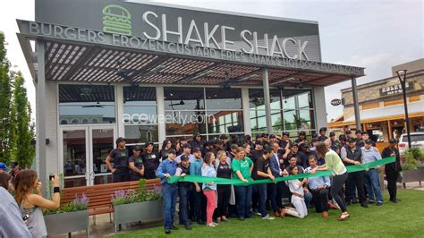 shake shack shake shack opens at the summit ace weekly