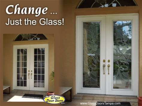 Adding Glass To Front Door Adding Glass To Your Existing Front Door Adds Value And Style The Glass Door Store