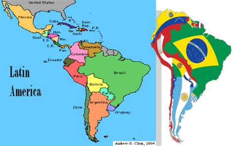 united states map and south america america