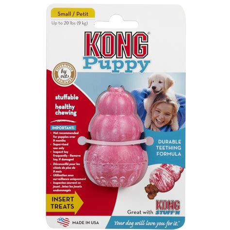 kong puppy kong puppy treat holder small for sale the pet warehouse