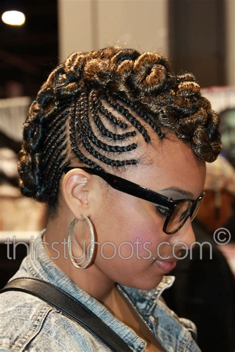 mohawk braids with braided mohawk designs hairstyles