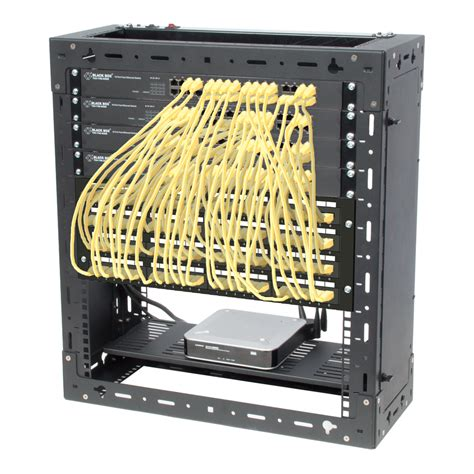 Networking Rack by Selecting A Wall Mount Rack The Server Rack Faq