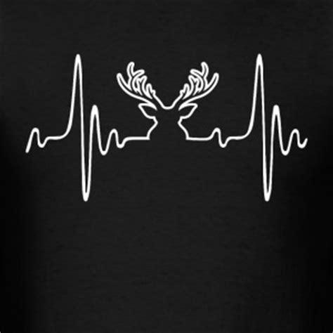 Deer Heartbeat deer heartbeat t shirts spreadshirt