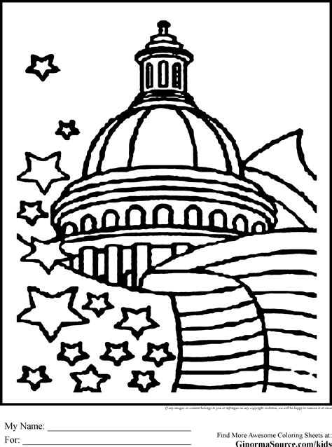 washington coloring pages washington dc coloring pages coloring pages pinterest