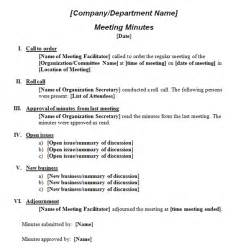 formal meeting minutes template formal meeting minutes template