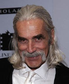 sam elliott long grey slickback hairstyle and handlebar mustache 1000 images about hair style on pinterest gibson girl
