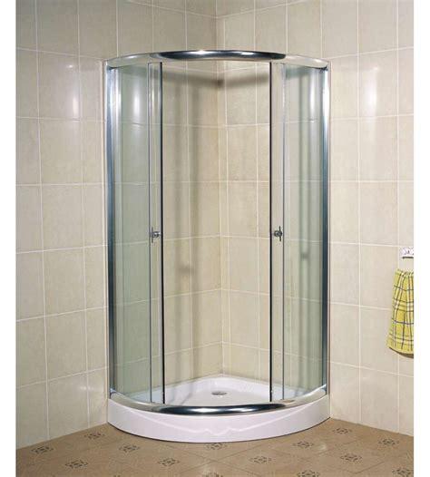 cabina doccia rotonda box doccia quot a1001 b quot rotonda con base 90x90x195 cm