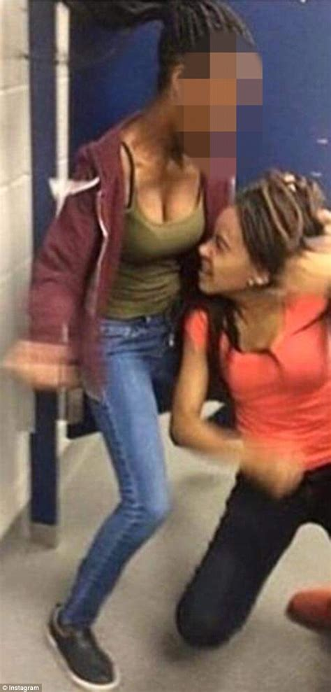 girl fight in bathroom amy inita joyner francis fight video shows moment girl is jumped by bullies daily