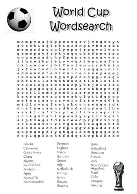 printable football word search uk 2014 world cup wordsearch by tomremnant uk teaching