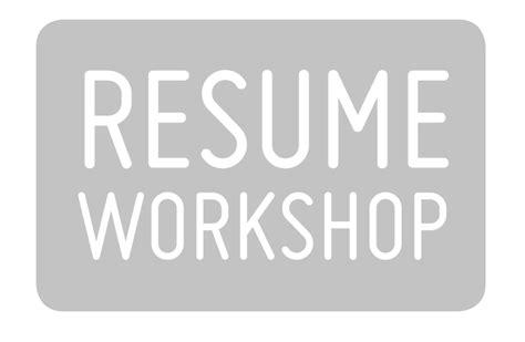Resume Workshop Resume Workshop Clipart 10