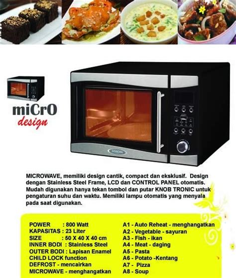 Microwave Signora new products signora oven and microwave