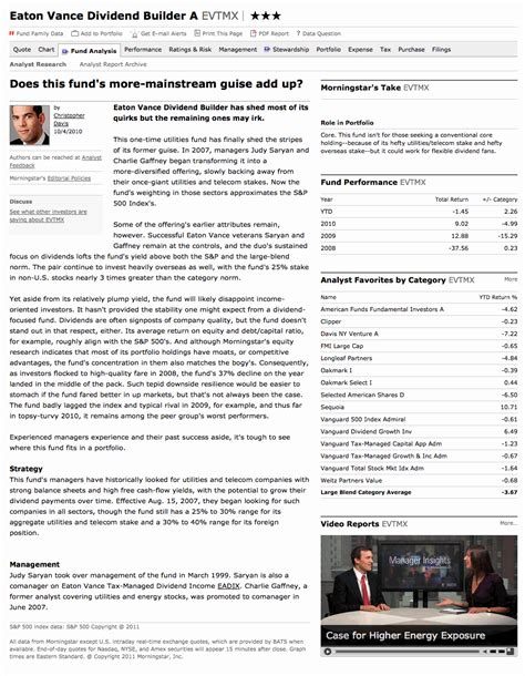 stock analyst report template fund analyst report sle