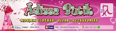 adissa butik shop busana muslim wanita dan anak