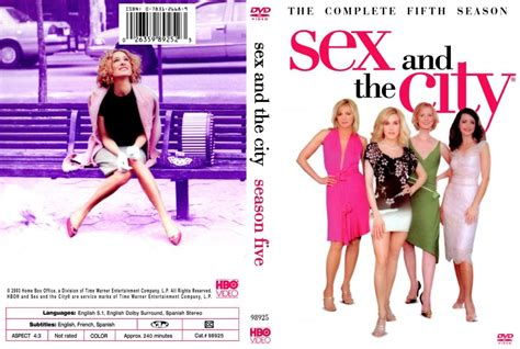 And The City The On Dvd by And The City The Complete Fifth Season Tv Dvd
