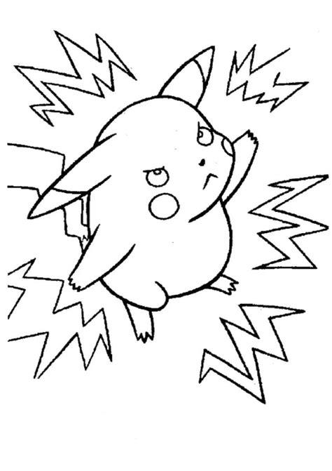Ataque de Pikachu HD | DesenhosWiki.com