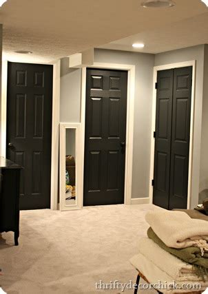 How To Paint Interior Doors Black Interior Doors On Pinterest Paint Interior Doors Black Doors And Paint Doors Black
