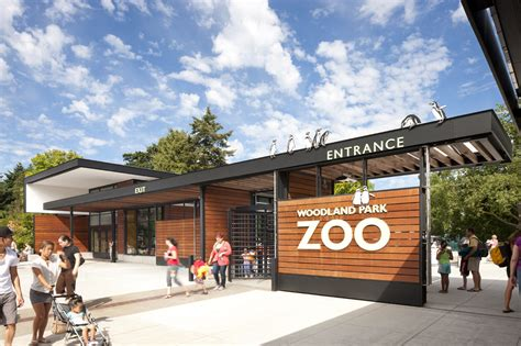 design manufacturing woodland wa woodland park zoo new west entry weinstein a u archdaily