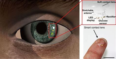 smart contact lenses  screen  pre diabetes