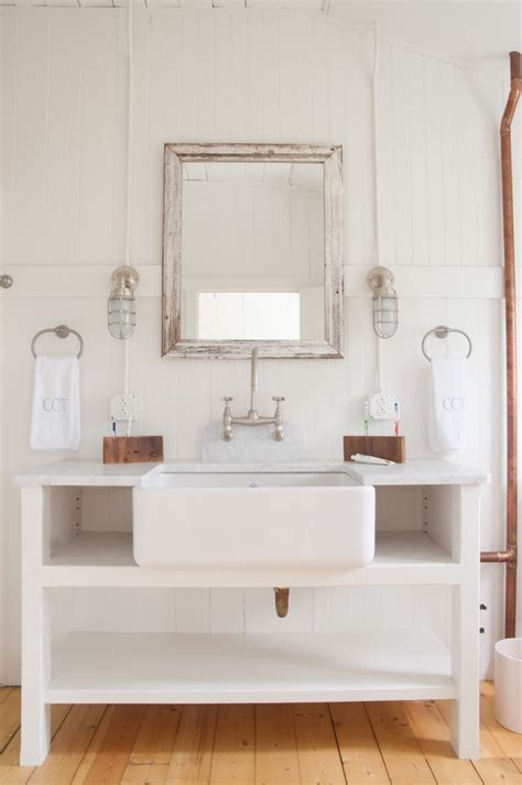 farmhouse bathroom sinks tin roof farmhouse project inspiration summer quot cottage quot