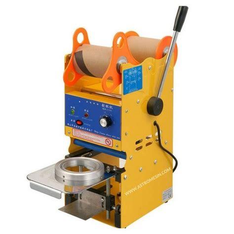 Alat Press Gelas Plastik Otomatis harga mesin cup sealer alat press cup mesin press