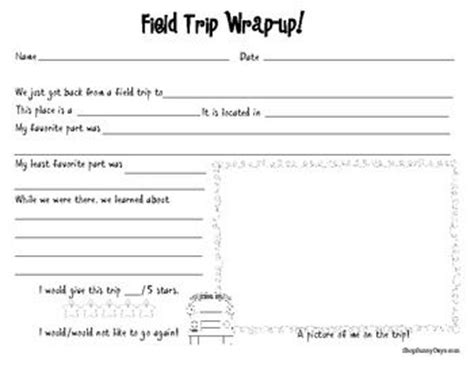 field trip lesson plan template enjoy this free activity from my field trip resource pack