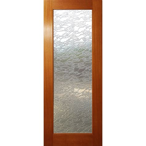 Woodcraft Doors 2040 X 820 X 35mm Delta Frosted Safety Safety Glass For Doors