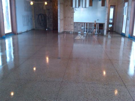 Interior Painted Concrete Floors by Painting Concrete Floors Glitter For