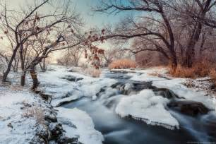 winter landscapes beautiful winter landscapes the krynka river 183 ukraine