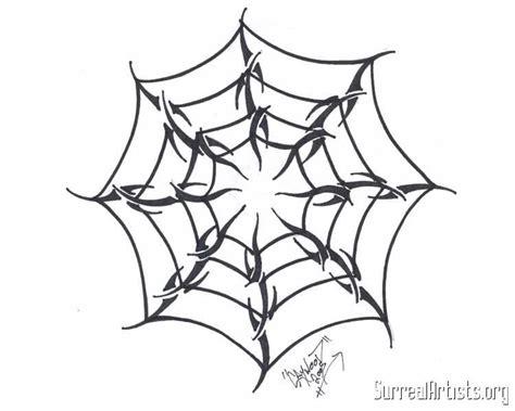 spider web tribal tattoos spider web drawings tattooic