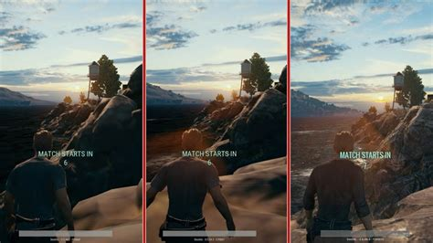 pubg xbox one x gameplay pubg early access visual comparison xbox one xbox one x pc