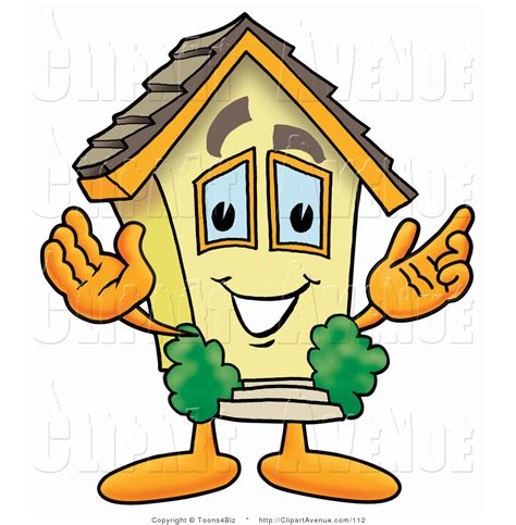 mascot clipart royalty free stock avenue designs of house characters