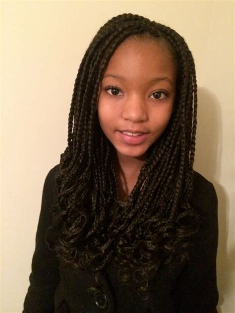 how to make a donut with block braids box braids for kids google search braids pinterest