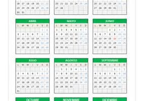 Calendario Excel Calendario 2017 En Excel Planillaexcel