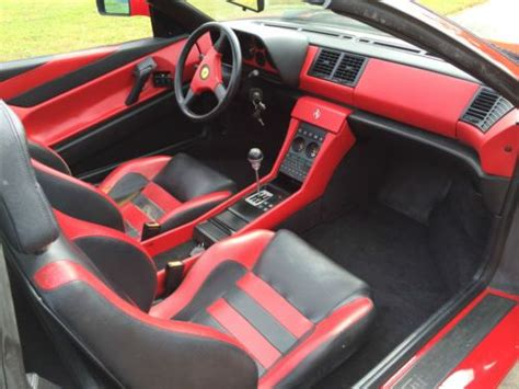 ferrari custom interior purchase used ferrari 348 1992 custom interior 30k miles