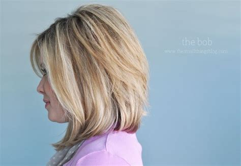 long bob angled hairstyles graduated layers a soft graduated bob mid length hair h a i r