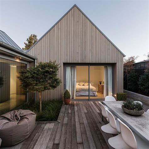 home design ideas new zealand house shaped blocks and courtyards make up this cedar clad