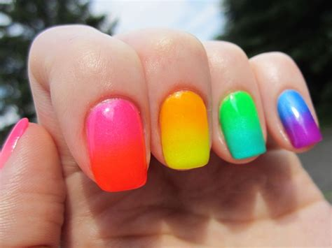 Neon Nail by Neon Nails For A Splash Of Color Youne