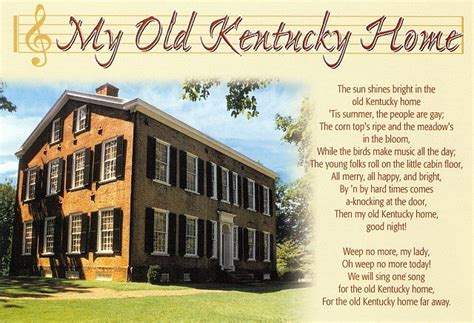 my kentucky home state park been there