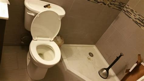 Bathroom Plumbing Problems by New Basement Bathroom Draining Problems Doityourself