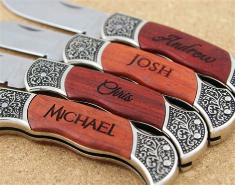engraved groomsmen gifts groomsmen knives two personalized custom engraved pocket