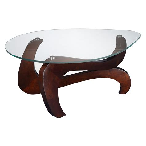 Wood Coffee Table With Glass Top Wood Base Glass Top Coffee Table Coffee Table Design Ideas