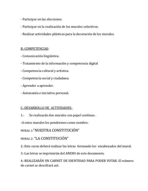 appointment letter que es actividades d 237 a de la constituci 243 n curso 2012 ceip