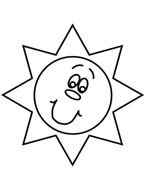 sun coloring page free printable sun coloring pages for