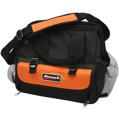 homak 12 in tool bag with 11 pocket tb00112011 the home