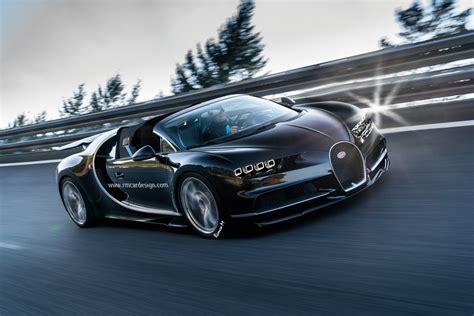 Bugatti Chiron Roadster by Bugatti Chiron Grand Sport Roadster Rendering Peeks Into