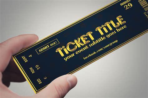 ticket design templates 21 inspiring exles of creative ticket designs free