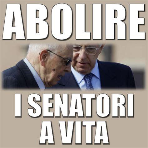 abolire i senatori a vita zonadifrontiera org