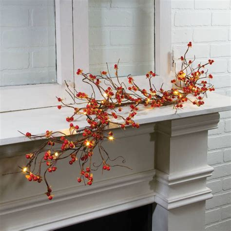 Autumn Garland Decorations by Top 25 Best Fall Garland Ideas On Fall Mantle