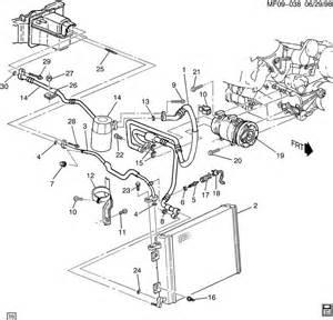 C Chevrolet Parts 2000 Chevrolet Camaro A C Refrigeration System
