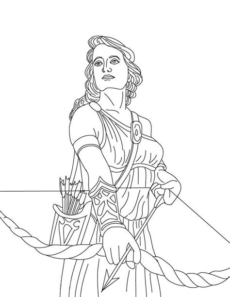 greek gods and goddesses coloring pages coloring pages